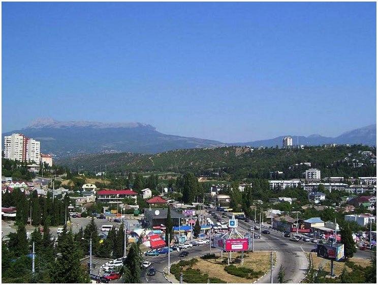 Алуштинская и Салгирская долины - наследие ледникового потока