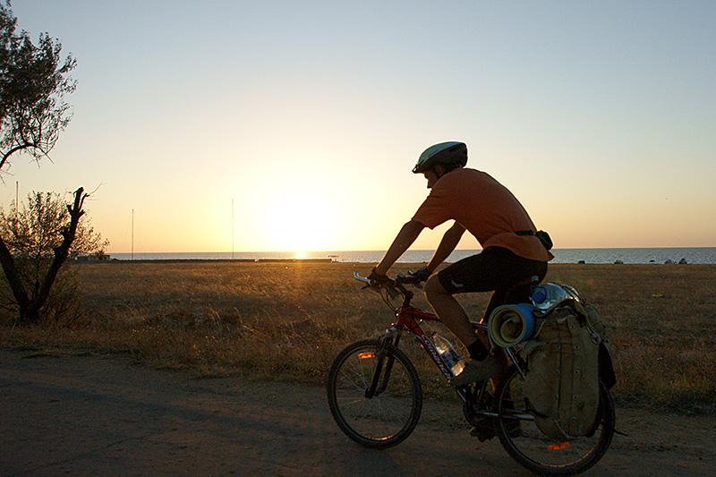В Севастополе появилась туристическая велотропа длиной 21 км. из с.Гончарное в Балаклаву.