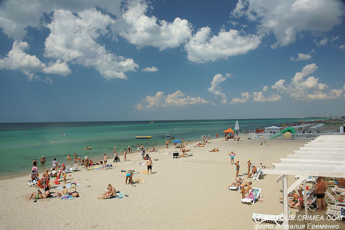 21оС! 22оС! 23оС! Это море! Крымский пляж!