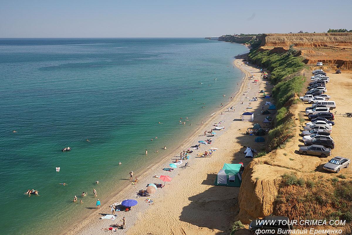 Немецкая балка - дикий пляж в окрестностях Севастополя.