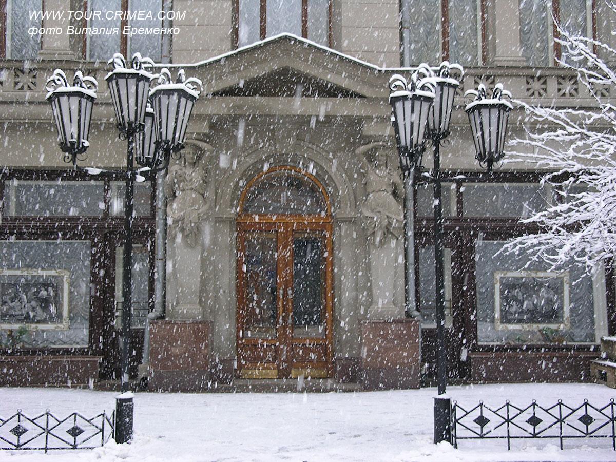В ожидании первого снега в декабре 2020....