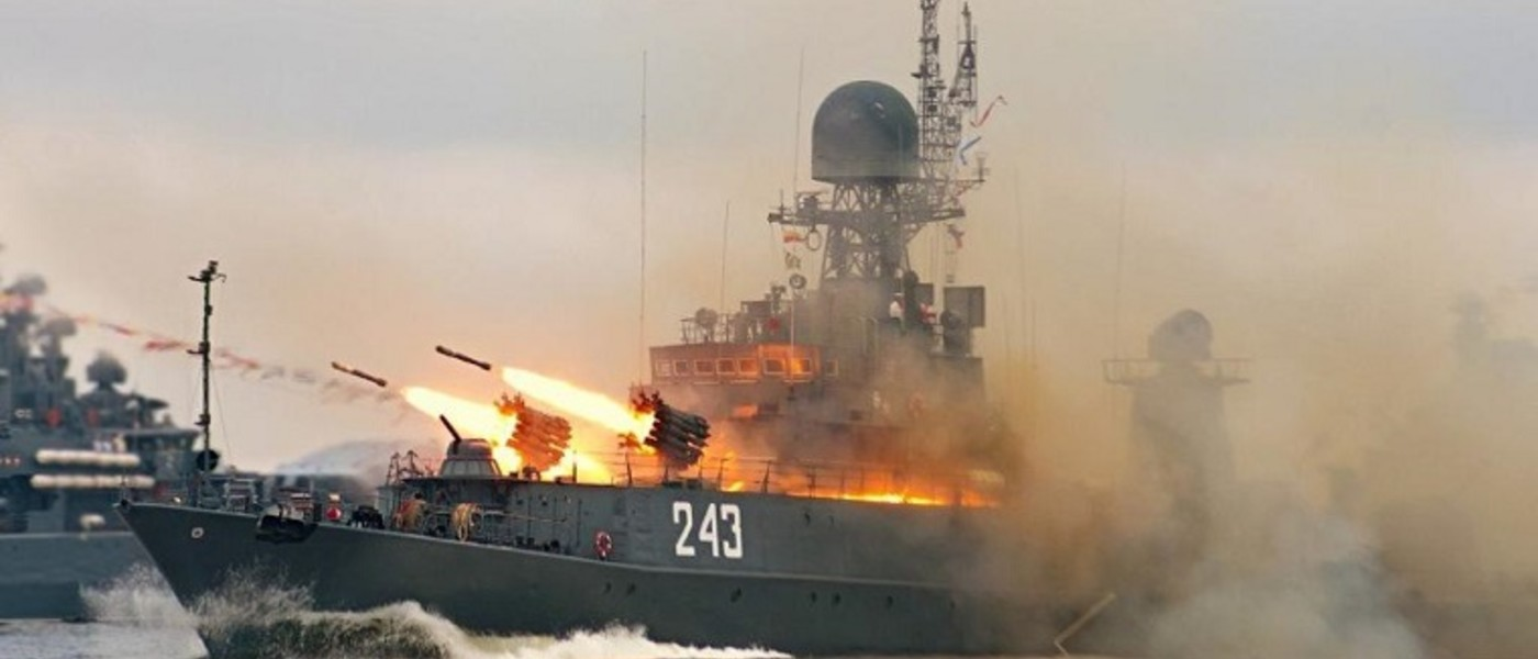 Отдых в Крыму. День военно-морского флота России в Севастополе