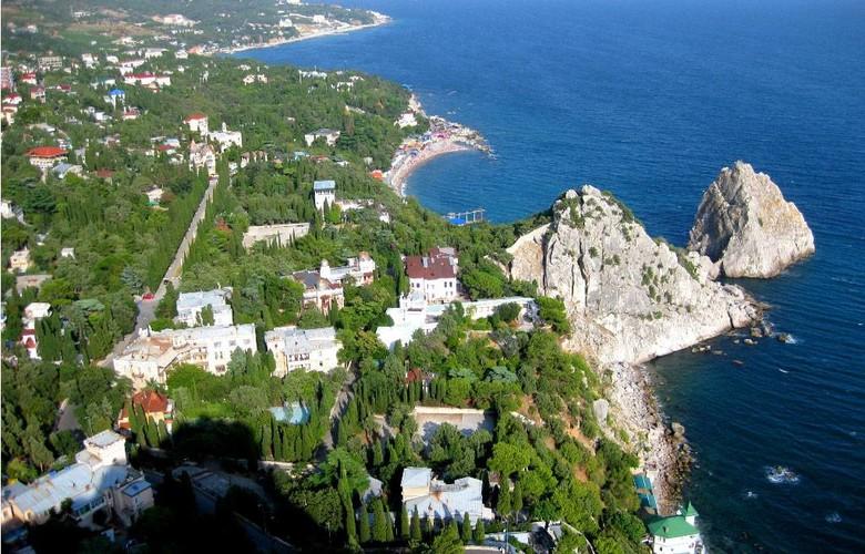 Отдых в Крыму. Большая Ялта: Симеиз