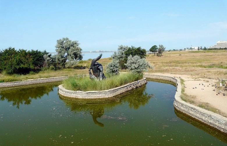 Отдых в Крыму. Сакский курортный парк
