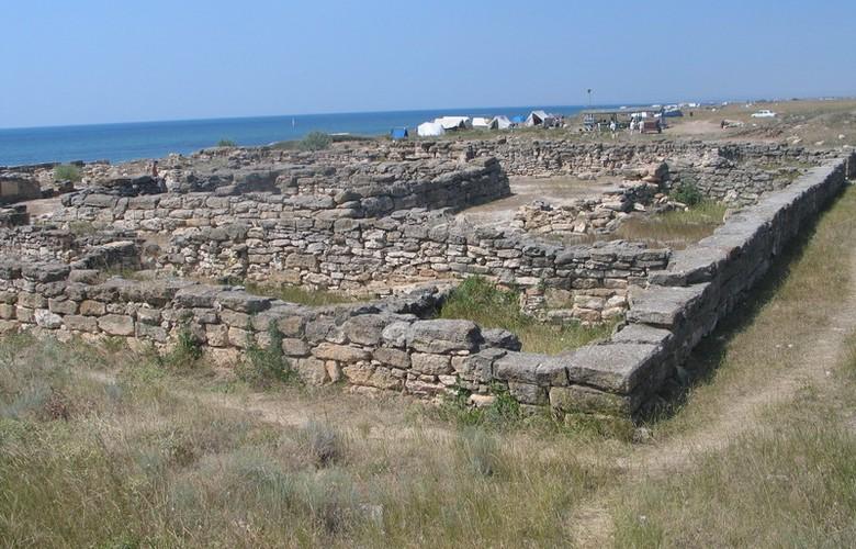 Отдых в Крыму. Калос Лимен (Прекрасная гавань) античный город