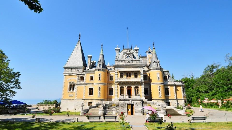 Отдых в Крыму. Массандровский дворец