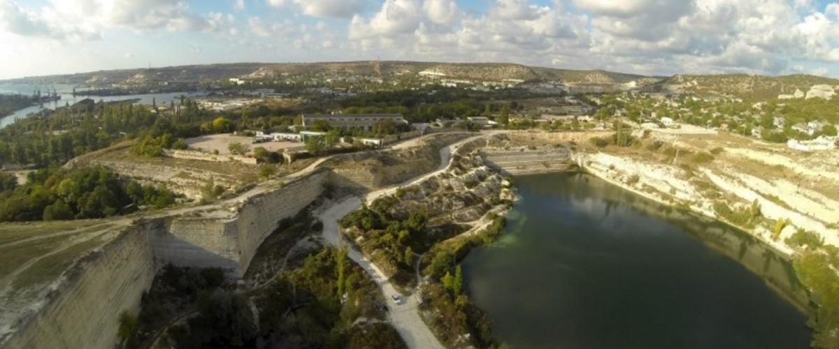 Старые карьеры Крыма для туризма, кино и образования