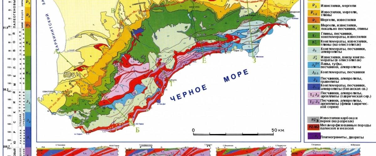 Геологические экскурсии на Золотом кольце Крыма. Введение