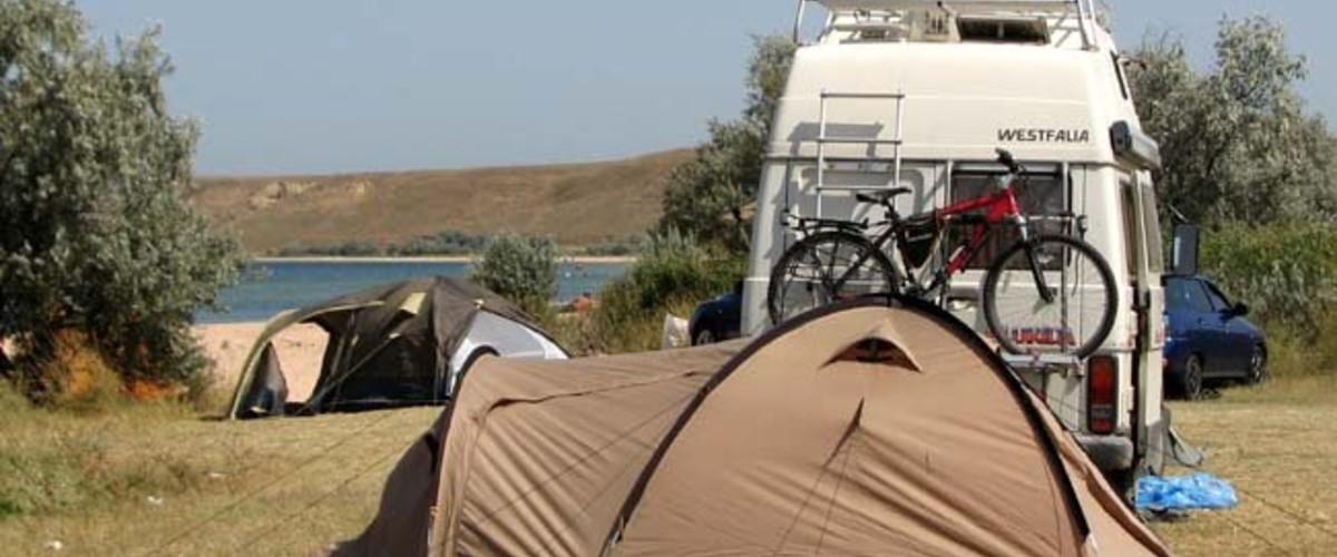 Пешком и на велосипеде от приморских автокемпингов Крыма