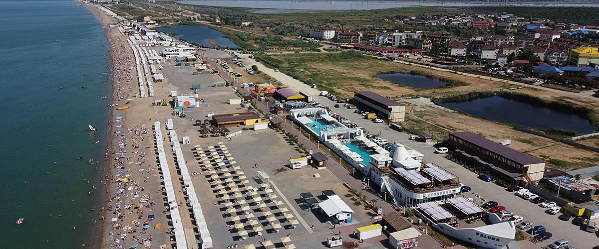 Новофедоровка - одно из лучших мест для пляжного отдыха на Западном побережье Крыма.