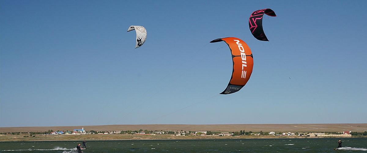 Свобода, полет и экстрим. Кайтсерфинг в п.Оленевка (Западный Крым).