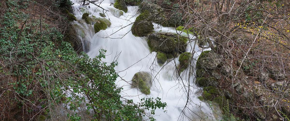 Полноводные крымские водопады. Апрель 2021г.
