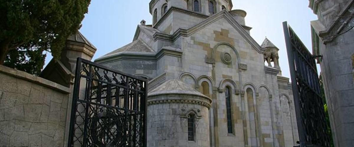 Отдых в Крыму. Армянская церковь