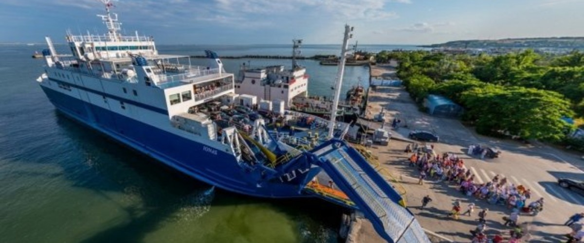 Отдых в Крыму. 5 млн пассажиров на Керченской паромной переправе