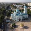 Свято-Ильинский храм в Саках. Вид с высоты птичьего полета.