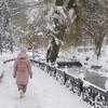 Набережная р.Салгир в Симферополе. Романтическое место для прогулок. Зима.